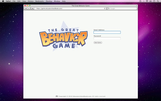 The Great Behavior Game Overview